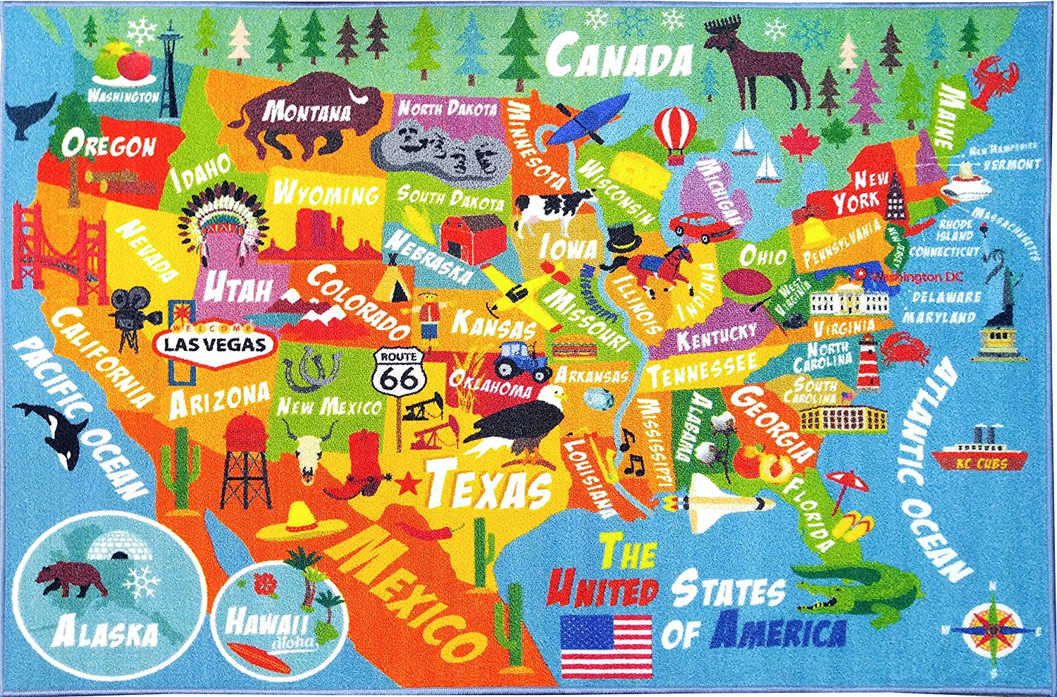 Kc Cubs Playtime Collection Usa United States Geography