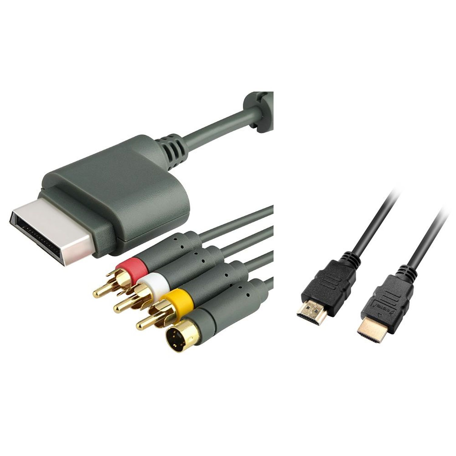 Insten 3 Feet 3Ft HDMI Cable MM 1080pAV Composite S Video Cable For Xbox 360