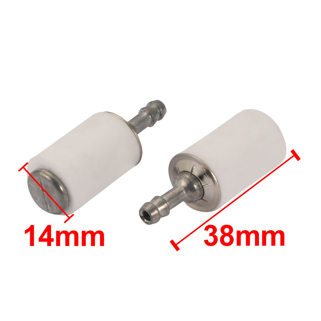 hight resolution of 2pcs fuel filter fit for poulan chainsaw weedeater trimmer blower walmart com
