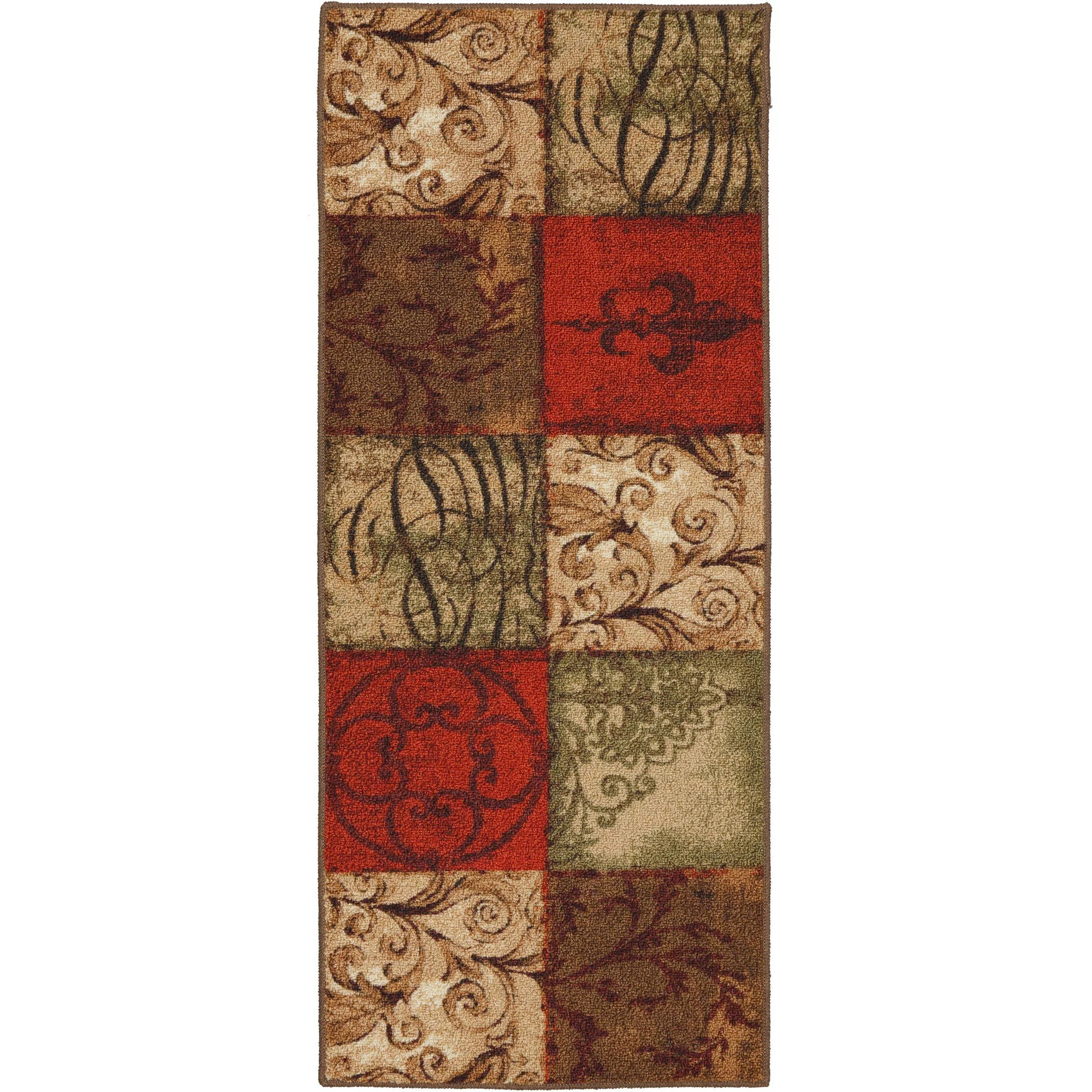 mohawk kitchen rugs small with dining table home tuscany runner 20 x 50 walmart com
