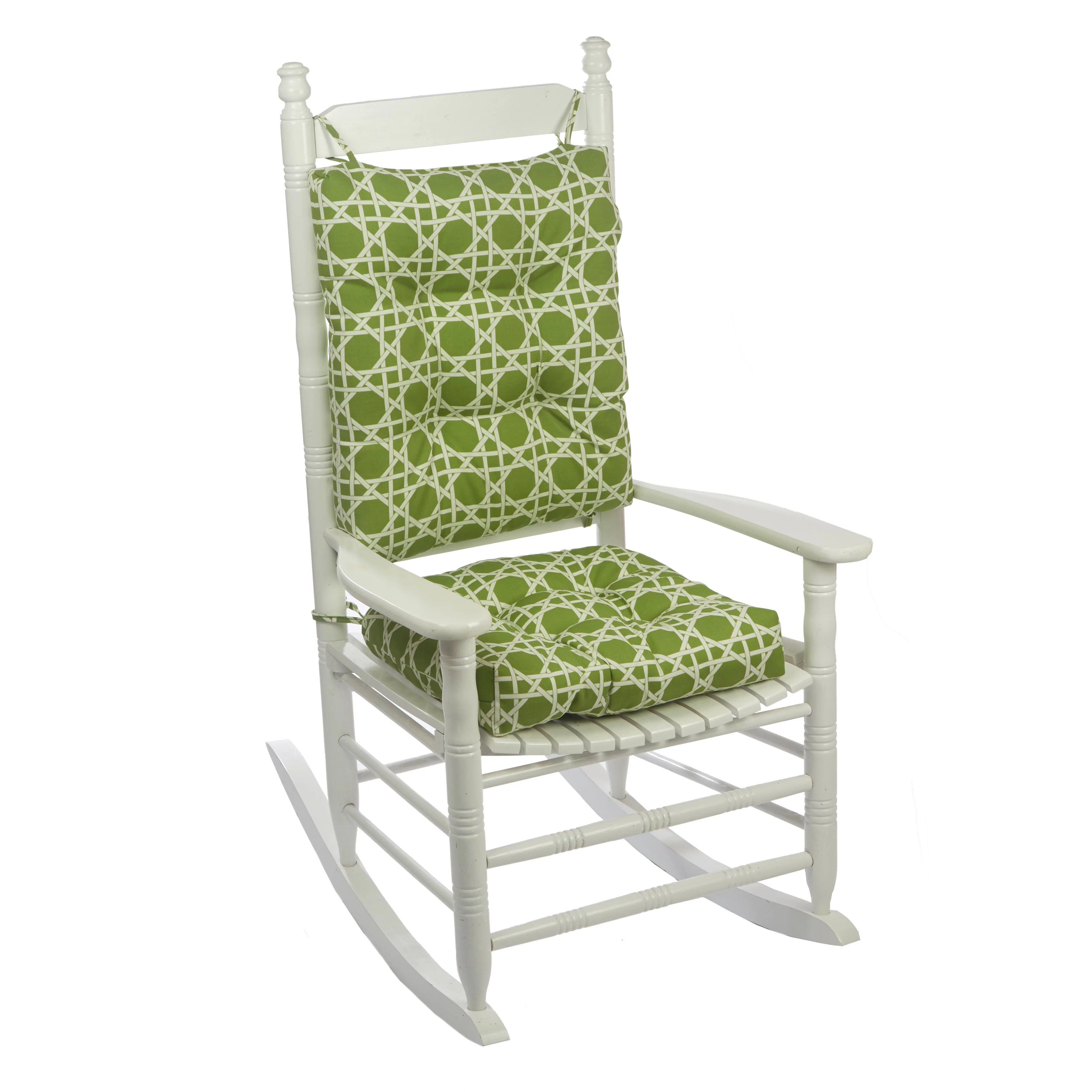 porch outdoor indoor kane palm rocking chair cushion set walmart com
