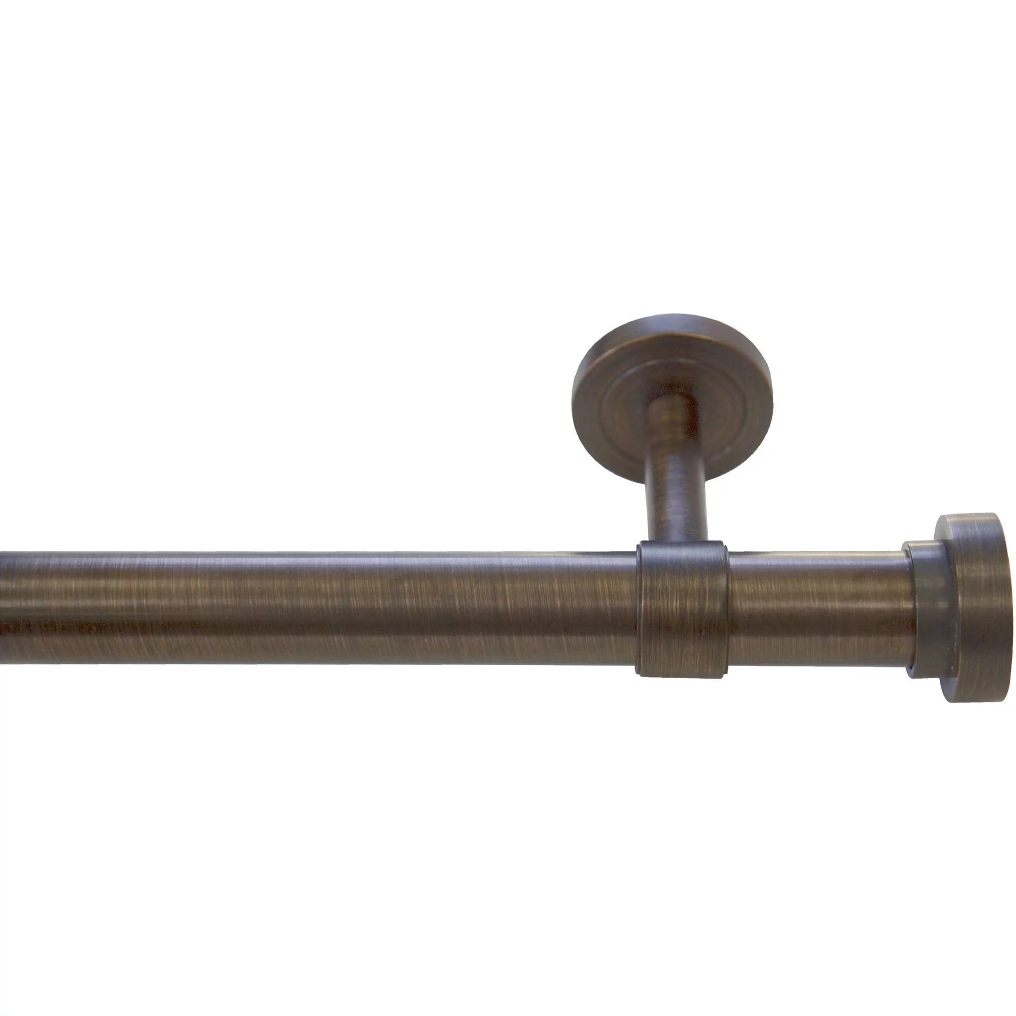 bali 1 end cap decorative curtain rod set 36 66 or 66 120