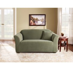 Sage Sofa Slipcovers Lancaster Knock Off Sure Fit Stretch Pearson Loveseat Slipcover Walmart