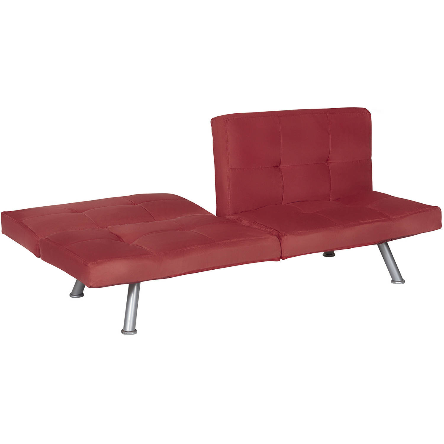 julia cupholder convertible futon sofa bed white custom leather mississauga walmart red  roselawnlutheran