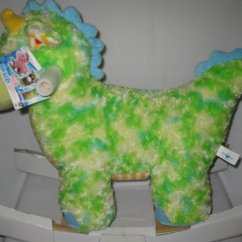 Baby Rocking Chair Walmart Pull Out Chairs Dinosaur Animal Plush Rocker With Melody - Walmart.com