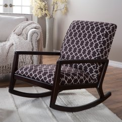 Rocking Chair Height White Wood Folding Chairs Bulk Belham Living Madeleine Low Profile Walmart Com