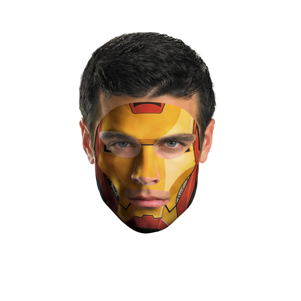 Iron Man Costume Face Tattoo Walmart Canada