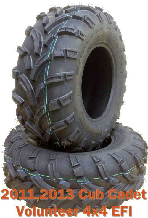 small resolution of 11 13 cub cadet volunteer 4x4 efi atv front tire set 26x10 12 mud walmart com