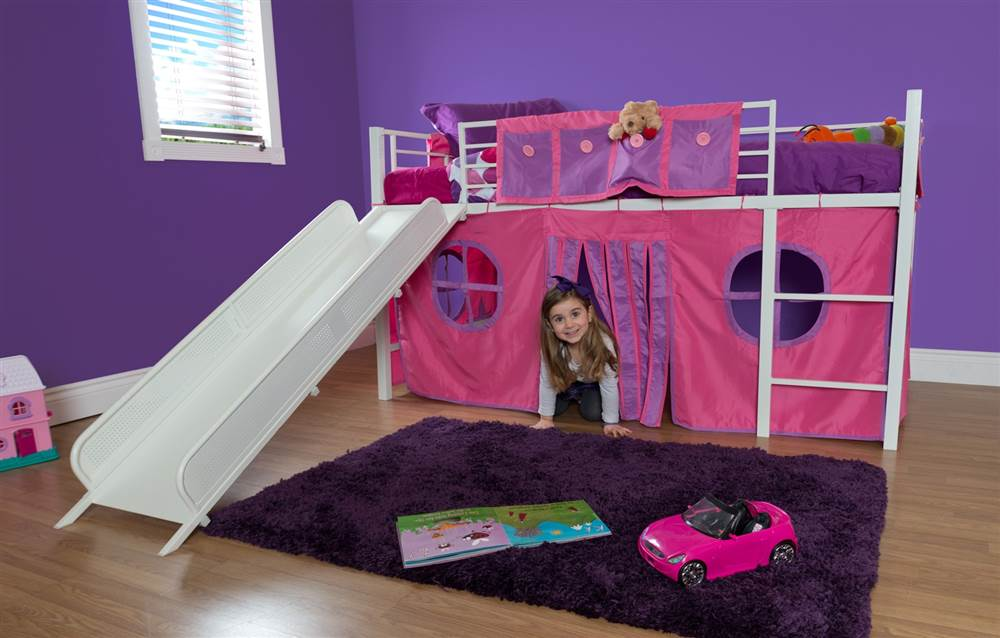 dhp curtain set for loft bed bed sold separately component