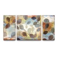 Autumn Muse 30 x 60 Textured Canvas Art Print Triptych ...