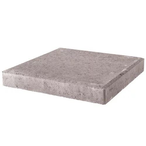 pavestone 12 square pewter concrete stepping stone