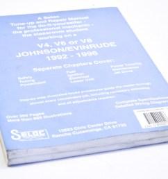seloc 0 89330 040 3 1992 1996 johnson evinrude v4 v6 and v8 tune up and repair manual qty 1 walmart com [ 2464 x 1632 Pixel ]