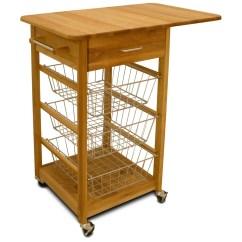 Wire Kitchen Cart Sofa Chrome Basket Walmart Com