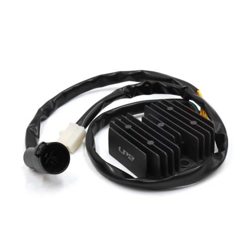 small resolution of dc 12v black metal motorcycle voltage regulator rectifier for honda atv trx300