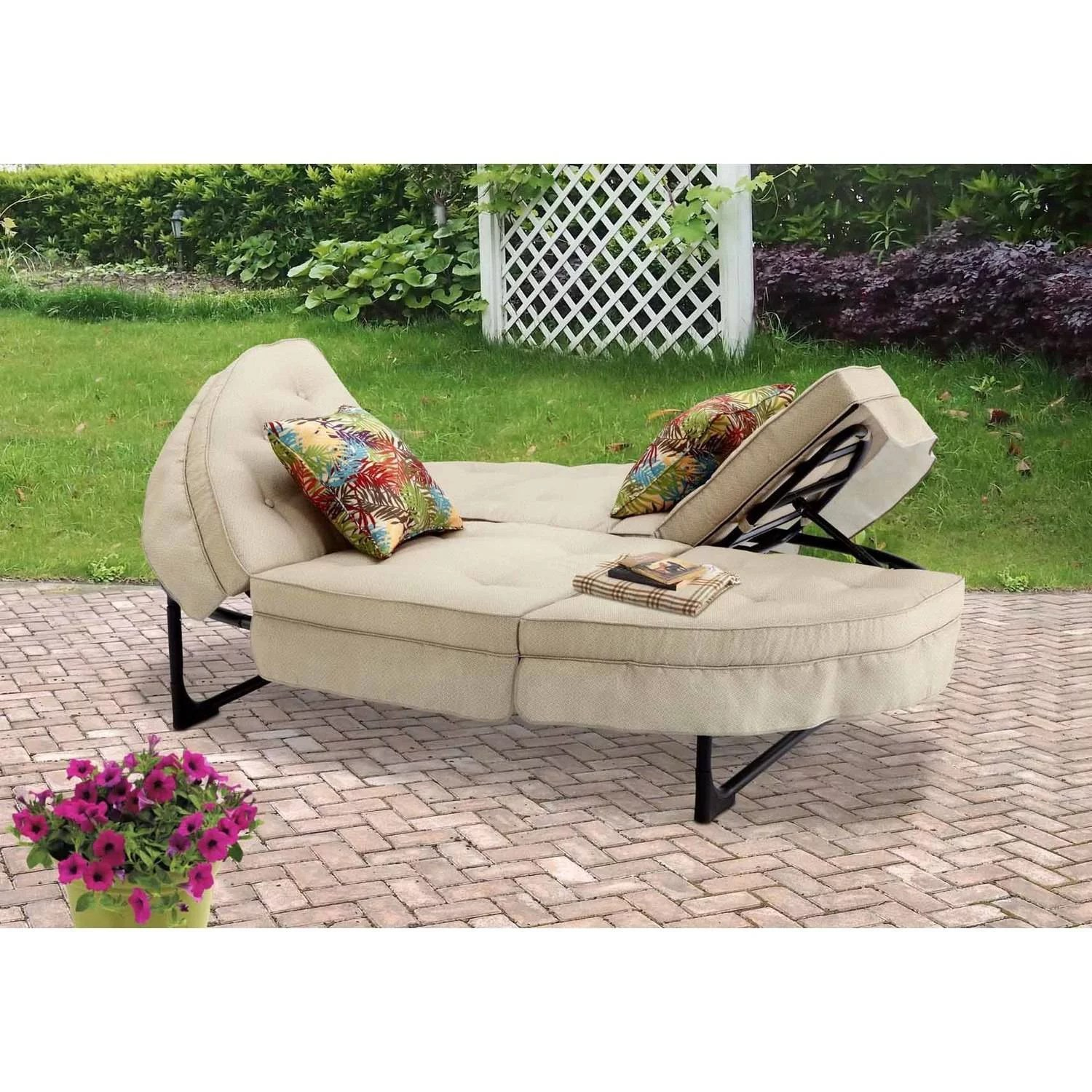lounge chair walmart big bean bag chairs better homes and gardens clayton court chaise with