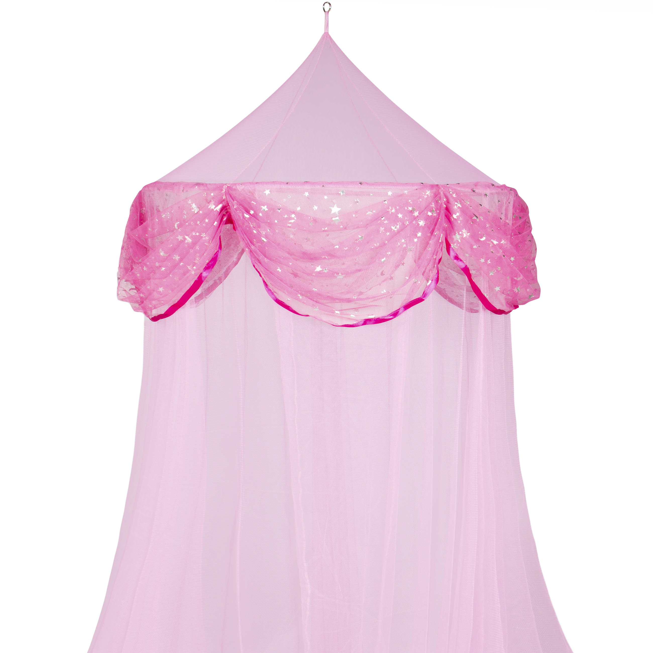 Bed Mosquito Netting Canopy Pink Princess Bedding Bed