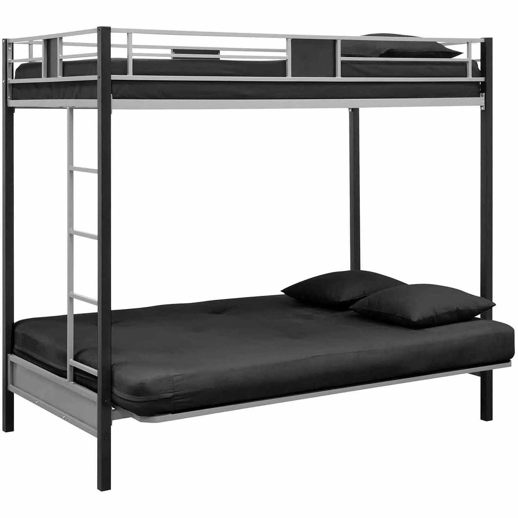 dhp allegra pillow top futon sofa bed sets designs pics how to make a bunk