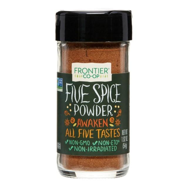 Frontier Five Spice Powder, 1.92 Ounce Bottle