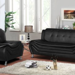 Walmart Living Room Sets Modern With Black Leather Sofa Us Pride Furniture Sifford 2 Piece Set Chair