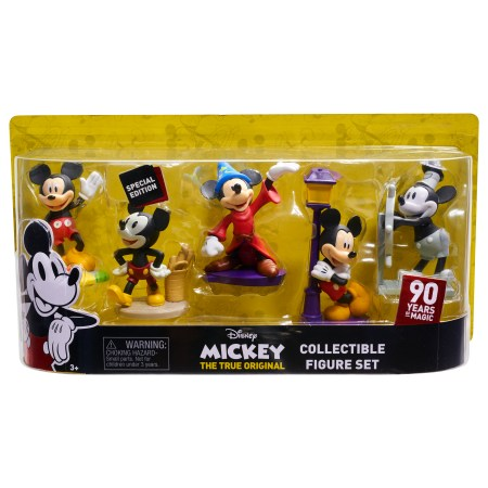 Mickey's 90th Anniversary Deluxe Collector Figure Set