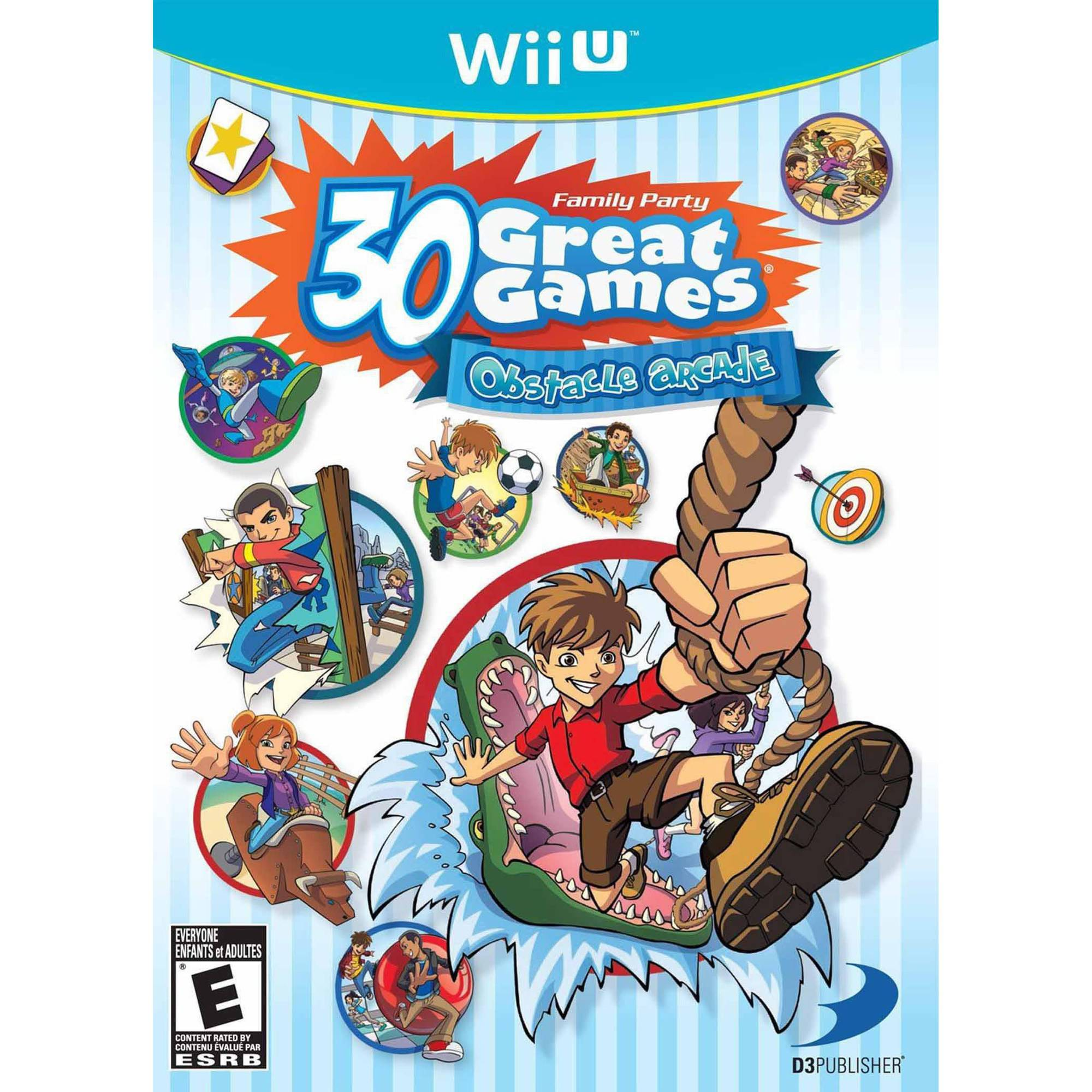 Family Party 30 Great Games Obstacle Arcade Wii U