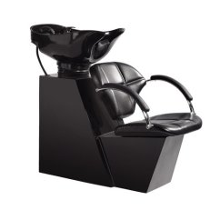 Shampoo Sink And Chair French Woven Cafe Chairs Backwash Bowl Unit Station Beauty Salon Equipment Walmart Com