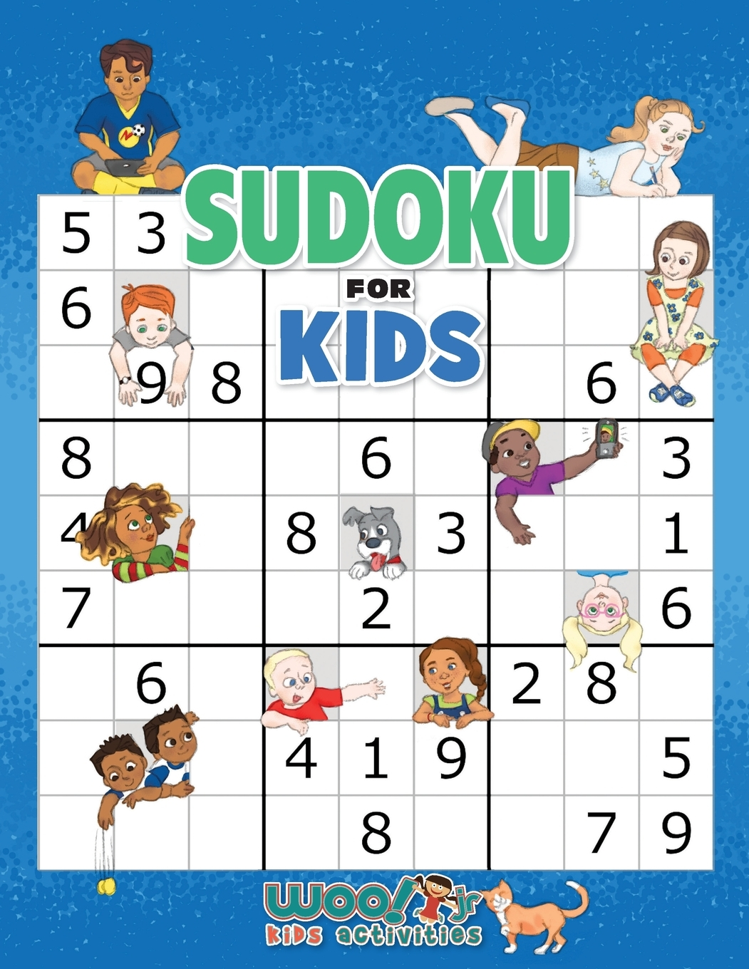 Sudoku For Kids 100 Sudoku Puzzles From Beginner To