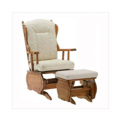 Walmart Rocking Chair Glider Industrial Lounge Newport Gliders Low Back Replacement Cushion - Walmart.com
