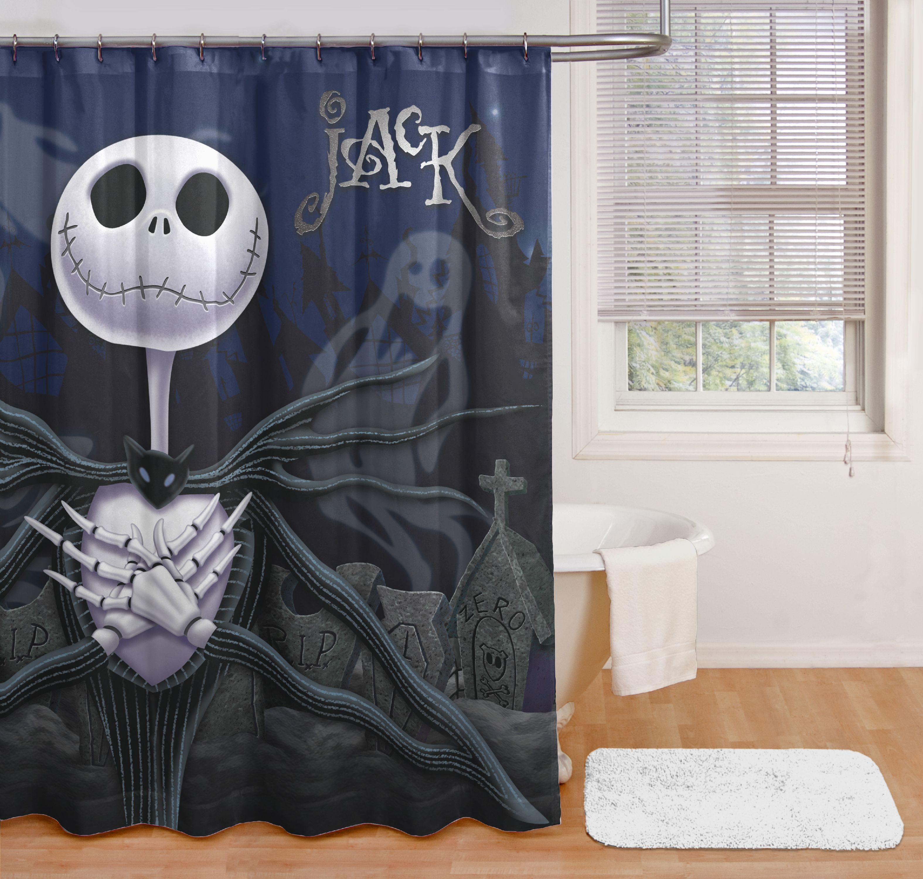 nightmare before christmas jack shower curtain walmart com