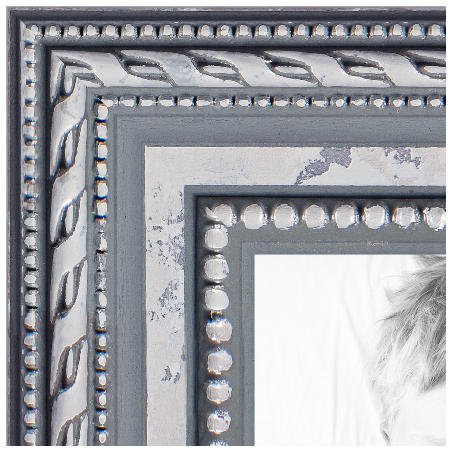 arttoframes 20x24 inch silver picture frame this silver wood poster frame is great for your art or photos comes with 060 plexi glass 4319