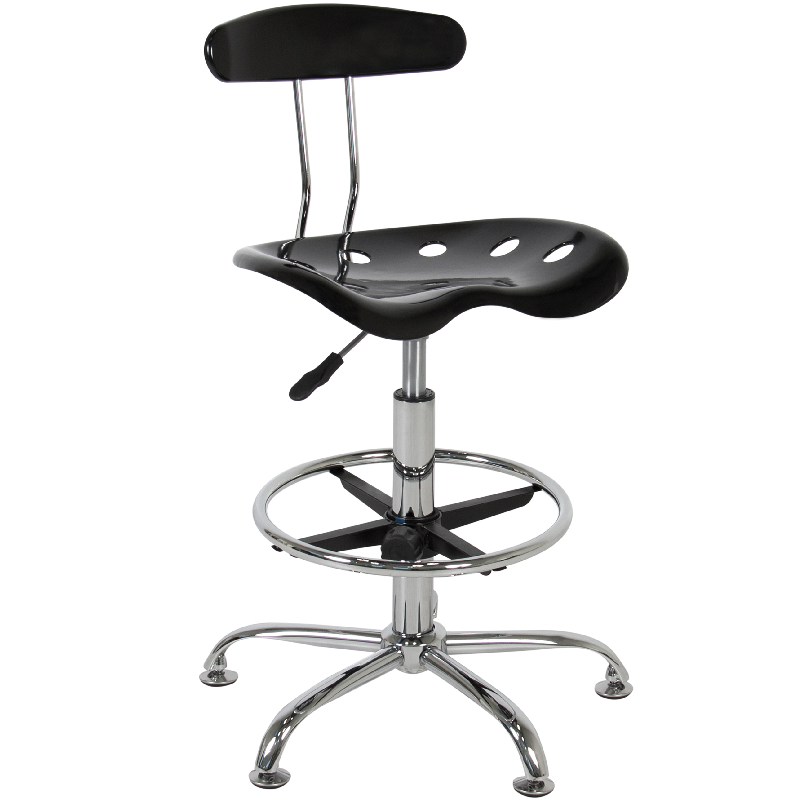 stool chair adjustable cheap accent chairs under 50 best choice products abs tractor seat bar stools swivel chrome drafting modern walmart com