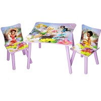 Disney - TinkerBell Fairies Table And Chair Set - Walmart.com
