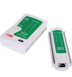 hde network cable tester for lan phone rj45 rj11 rj12 cat5 cat6 utp wire test tool  [ 1400 x 1400 Pixel ]