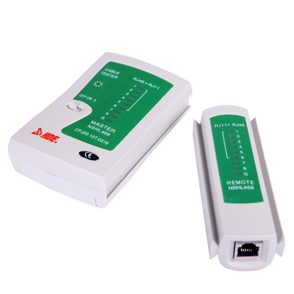 medium resolution of hde network cable tester for lan phone rj45 rj11 rj12 cat5 cat6 utp wire test tool
