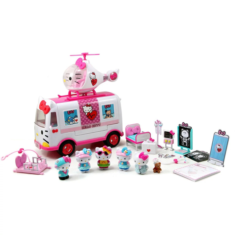 Jada Toys Hello Kitty Rescue Set Walmart