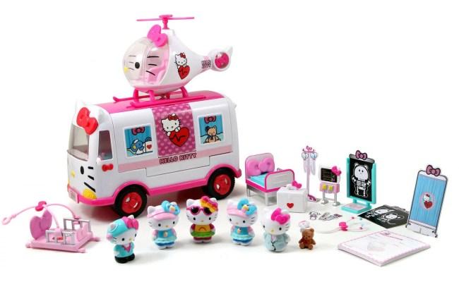 Jada Toys Hello Kitty Rescue Set Walmart Walmart