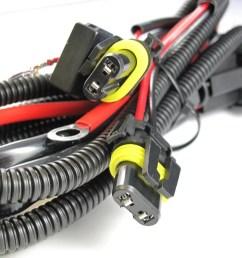 xotic tech 9005 9006 relay wiring harness for hid conversion kit add on fog light led drl walmart com [ 1200 x 900 Pixel ]