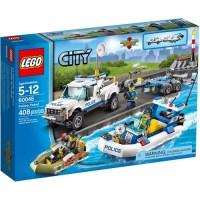 City Police Patrol Set LEGO 60045 - Walmart.com