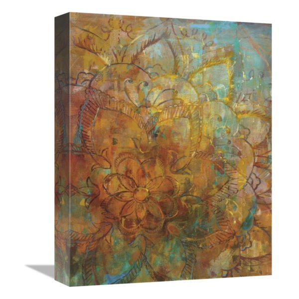Global Bohemian Abstract Canvas Wall Art