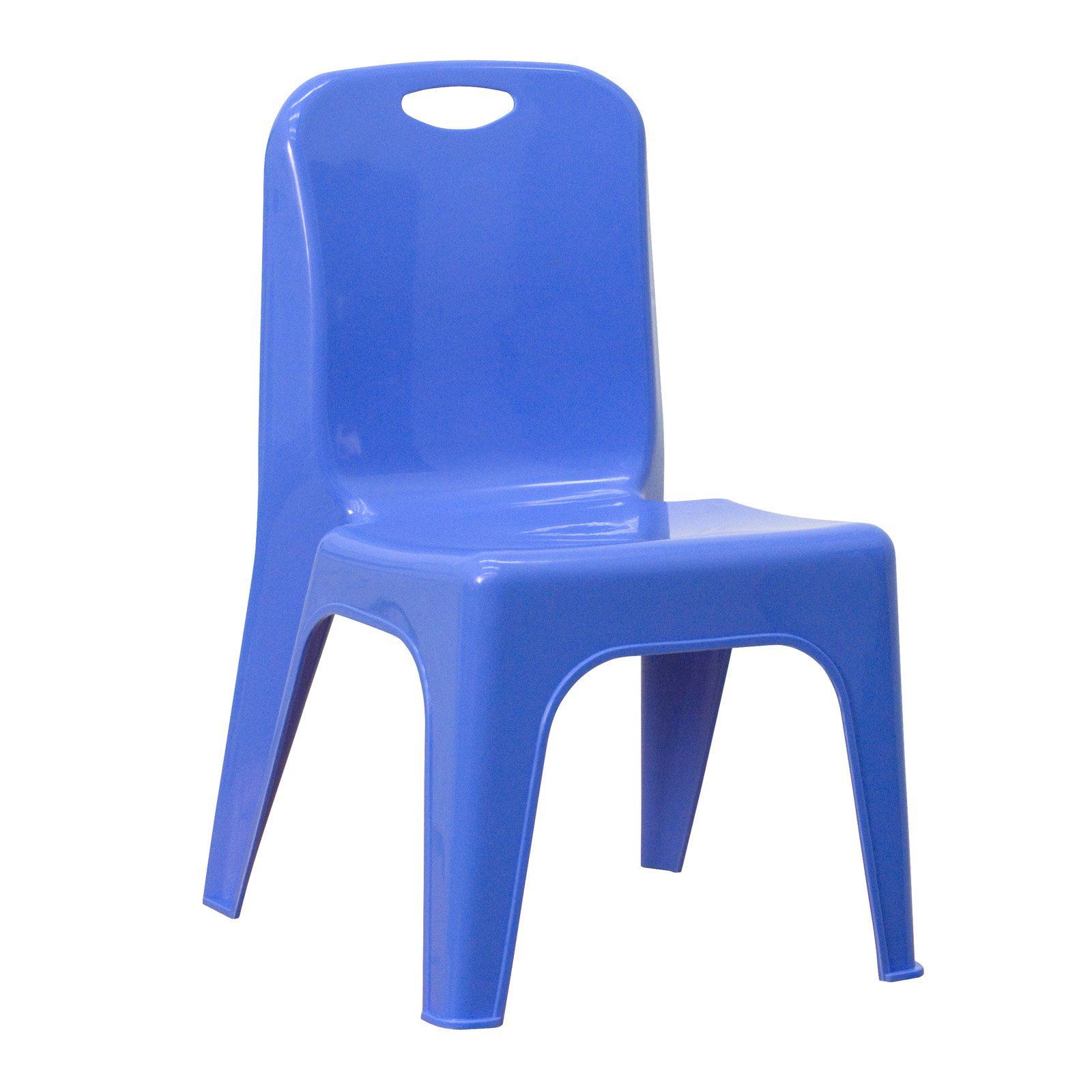 chair design with handle outdoor bean bag chairs sunbrella flash furniture plastic stackable school carrying and 11 seat height walmart com