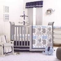 The Peanut Shell 3 Piece Baby Boy Crib Bedding Set ...