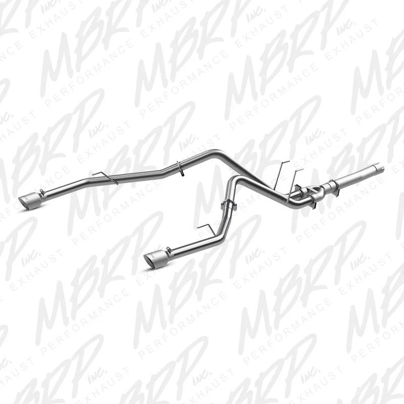 MBRP 2014 Dodge Ram 1500 3.0L EcoDiesel 2.5in Filter Back