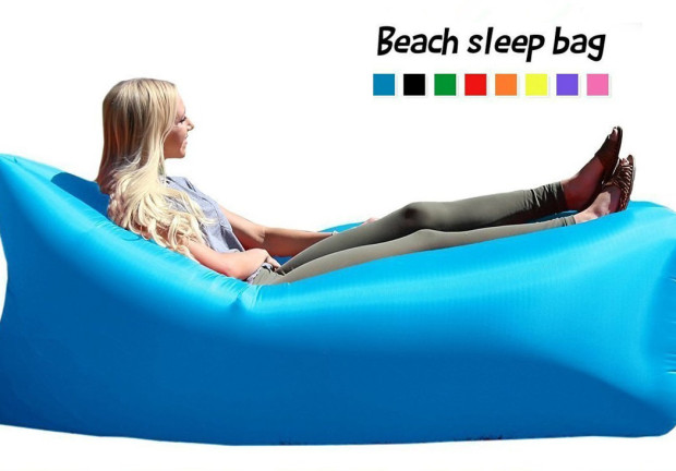 air bag chair tobias dymade lounger fast inflatable bed sofa couch outdoor beach camping hammock lazy