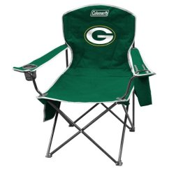 Coleman Rocking Chair Sunbrella Cushions Green Bay Packers Cooler Quad Walmart Com