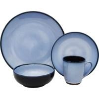 Sango Nova 16-Piece Dinnerware Set, Blue - Walmart.com