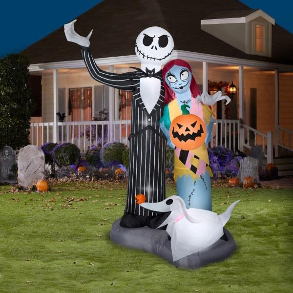 Nightmare Christmas Scene Halloween Airblown