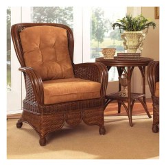 Rattan Wingback Chairs Living Room Boca Moroccan Chair Walmart Com
