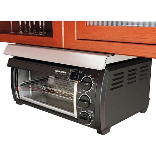 Black  Decker Traditional Spacemaker Toaster Oven Black  Walmartcom