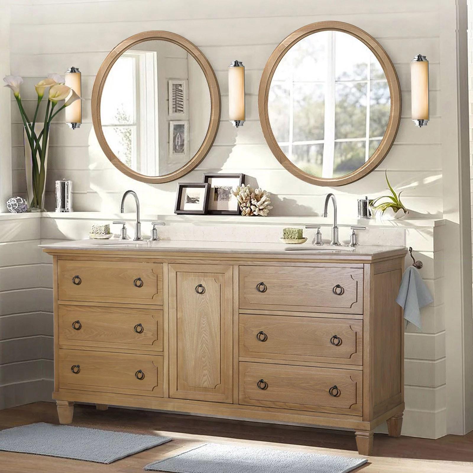 Legion Furniture WLF6060 Double Bathroom Vanity  Walmartcom