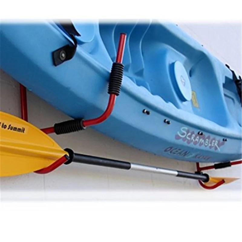 vbestlife 1pair kayak storage rack hanger supporter carrier surfboard holder wall bracket kyak storage rack kayak wall rack walmart com